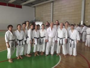 Sabato 17 marzo a Salsomaggiore ha avuto luogo un importante stage di karate basato sullo studio del kumite