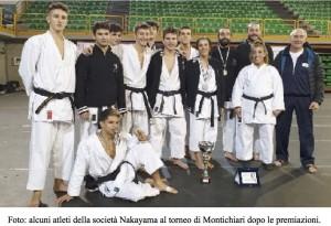 Gara di Karate a La Spezia